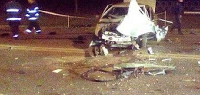 8 personas mueren en choque de autos en Argentina. Foto: Redes