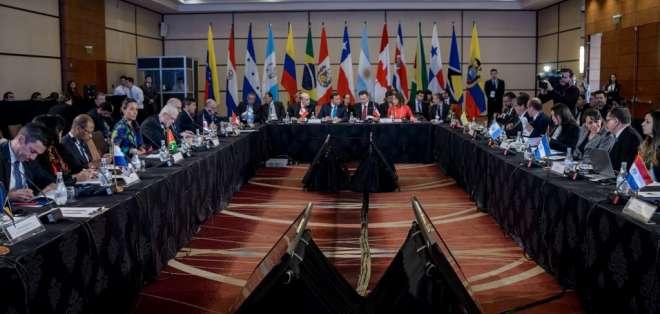Canadá anunció nuevas sanciones contra el régimen, incluido el canciller Arreaza. Foto: AFP