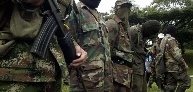 Desde firma de paz en Colombia, 128 exmiembros de las FARC han sido asesinados. Foto: AFP