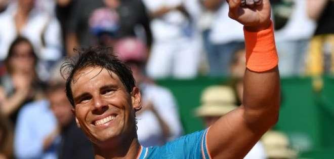 El tenista español solo necesitó 1h16 minutos para vencer a Roberto Bautista. Foto: YANN COATSALIOU / AFP
