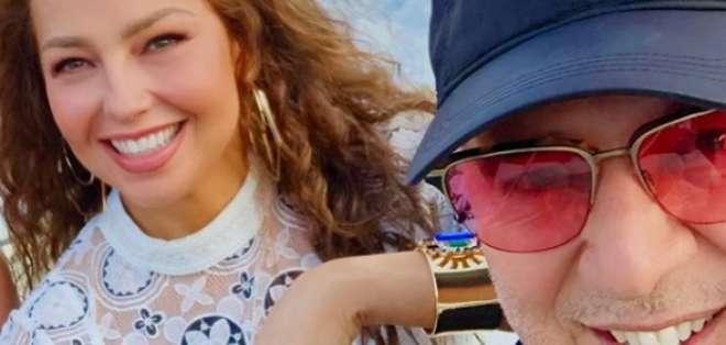Thalía y su hija: la foto que comprueba que son iguales. Foto: IG