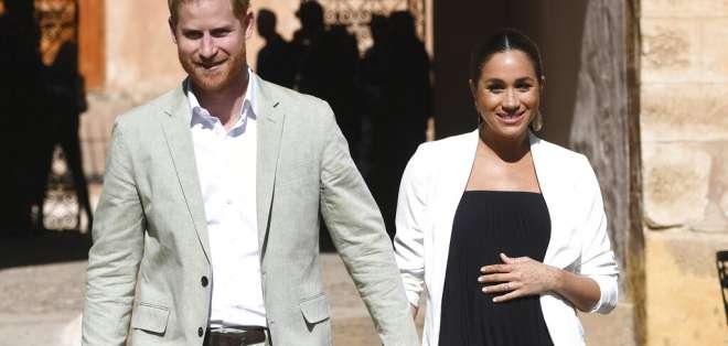 La pareja ha mantenido muchos detalles del embarazo y plan de parto en privado. Foto: AP.