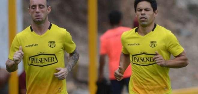 Damián Díaz, junto a Matías Oyola, figuras de BSC.