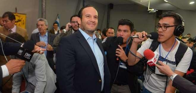 El presidente de la Federación Ecuatoriana de Fútbol (FEF) habló de la Copa América 2019. Foto: API