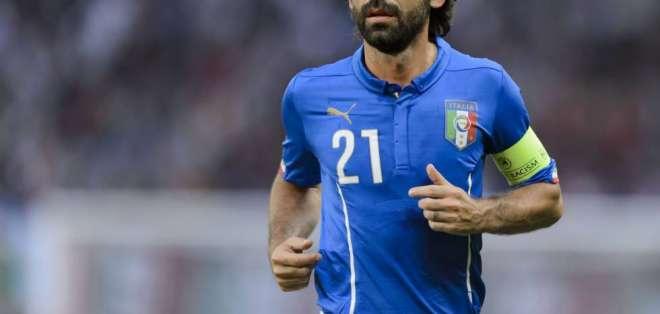 Andrea Pirlo, exfigura italiana.