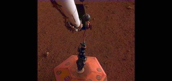 Los sensores que captaron la señal sísmica fueron desarrollados en Francia y Reino Unido. Foto: NASA/JPL