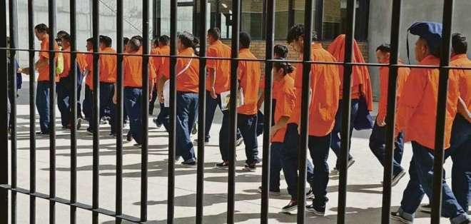 ECUADOR.- Según cifras oficiales, el hacinamiento bordea el 40%; el 60% de los ppl tiene sentencia. Foto: Archivo