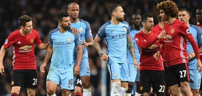 El City derrotó al United y se acercó al título.