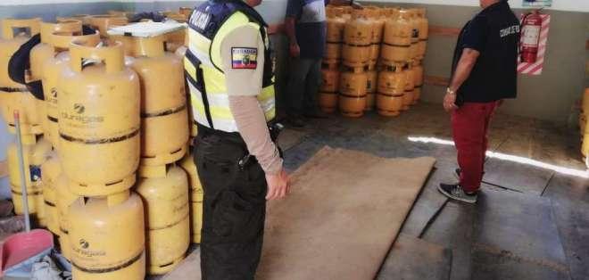 Tarifario oficial establece que kilo de GLP para uso doméstico es de USD 0,106667. Foto: Ministerio del Interior.