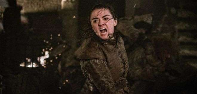 """Arya Stark fue una de las grandes protagonistas del episodio 3 de la temporada 8 de """"Juego de Tronos""""."""
