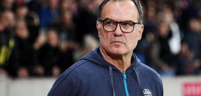 Marcelo Bielsa, entrenador argentino.