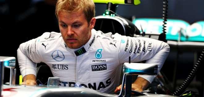 Nico Rosberg en la Fórmula 1.