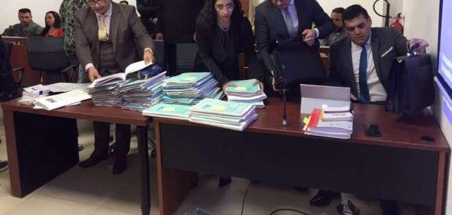 Jueza pidió fiscal general investigar cambios continuos de fiscales dentro del caso. Foto: Jaqueline Rodas