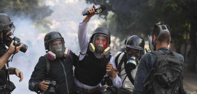 VENEZUELA.- Las víctimas corresponden a las manifestaciones de los últimos dos días. Foto: AFP