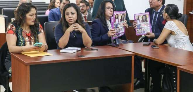 Jonathan C. es acusado de secuestro extorsivo y muerte de la joven Juliana Campoverde. Foto: Fiscalía