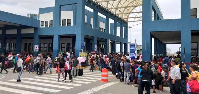 Según ministro, serán los que han falseado sus documentos de control migratorio. Foto: Archivo