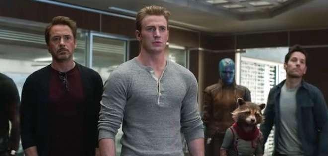 """""""Endgame"""" fue estrenado hace apenas 11 días. Foto: Marvel"""