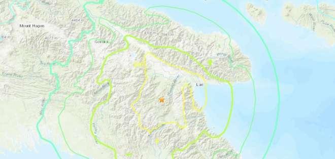 En febrero, un sismo de magnitud 7,5 golpeó a este país provocando la muerte de 125 personas. Foto: USGS