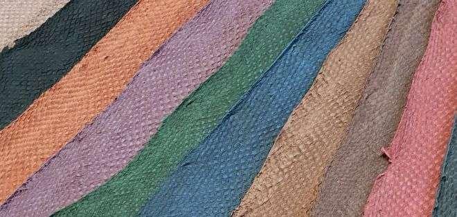 Atlantic Leather produce cueros de pescado de cuatro especies diferentes. ATLANTIC LEATHER