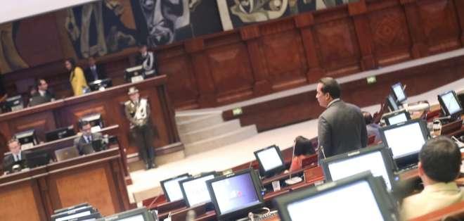 El receso legislativo durará hasta el 30 de agosto. Foto: Archivo