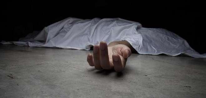 Mujer asesinada a tiros en El Triunfo. Foto: Referencial