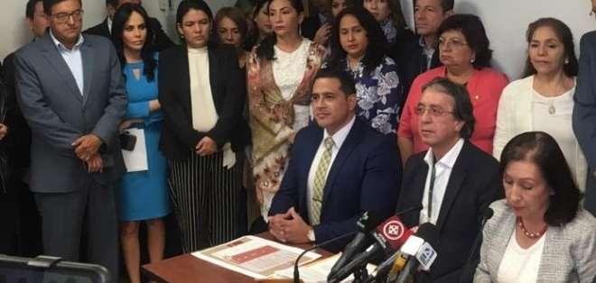 QUITO, Ecuador.- El exsecretario de AP afirmó hace unos días que acudiría al llamado de la justicia. Foto: Archivo