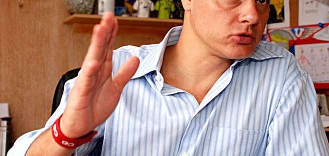 Esteban Paz, directivo de LDUQ.