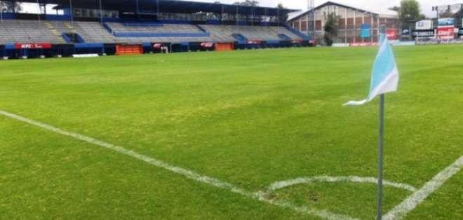 Estadio General Rumiñahui. Foto: Twitter.