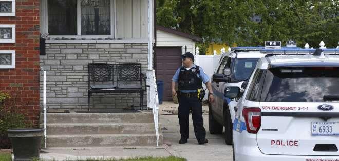 Policía de Chicago. Foto: AP