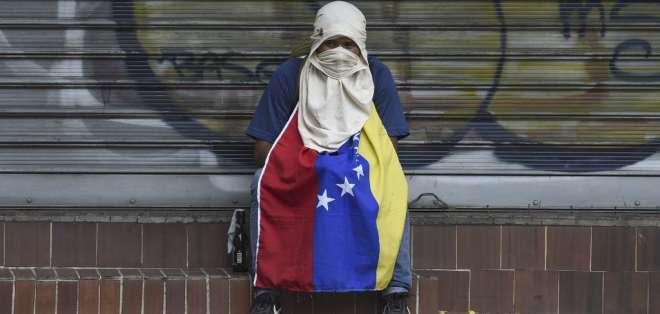 Venezuela sigue sumergida en la peor crisis socioeconómica de su historia reciente. Foto: AFP