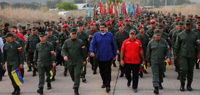 """Guaidó reveló el jueves contactos bajo """"un esfuerzo de Oslo en una mediación"""". Foto: AFP"""