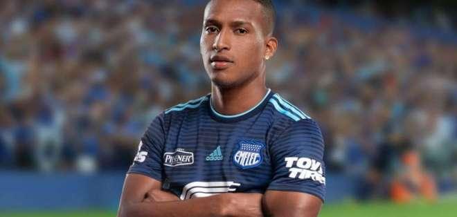 'Chiqui' Guerrero, jugador de Emelec.