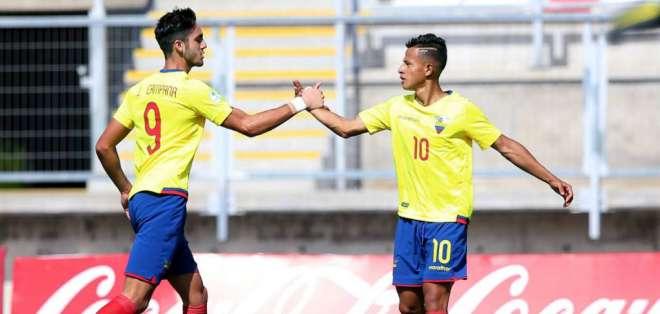 Campana y Rezabala fueron las figuras de Ecuador en el Sudamericano.