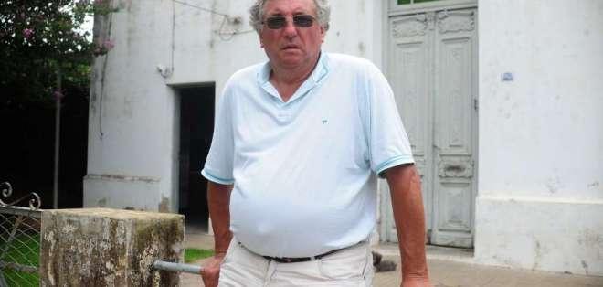 El padre del jugador falleció de un infarto.