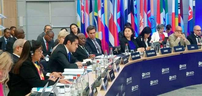 Ecuador también pasa a formar parte del Programa Regional OCDE para América Latina y el Caribe. Foto: Cortesía