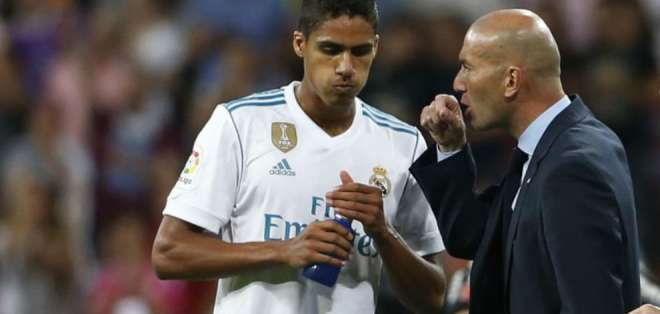 Raphael Varane, defensa del Real Madrid.