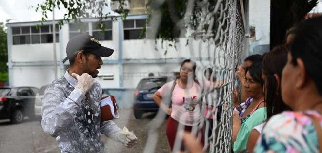 Dolor y rabia tras la muerte de 29 presos en Venezuela. Foto: AFP