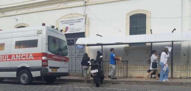 204 intoxicados en el Centro de Rehabilitación Social de Ibarra.
