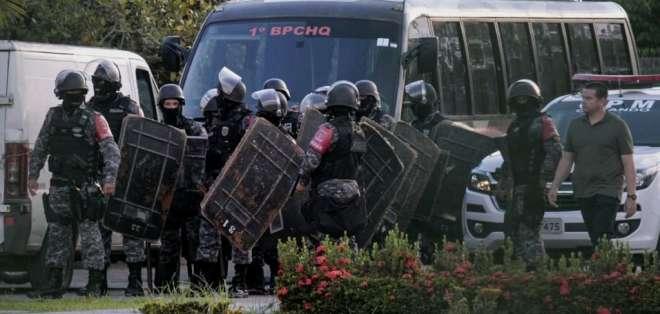 Brasil mantiene tras las rejas a más de 720.000 personas. Foto: AFP