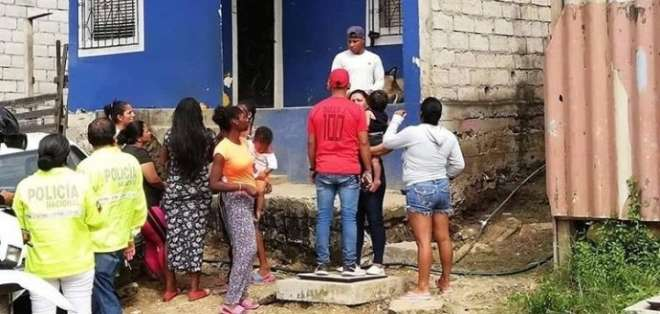 Madre fue asesinada frente a su hija en Guayaquil. Foto: Twitter
