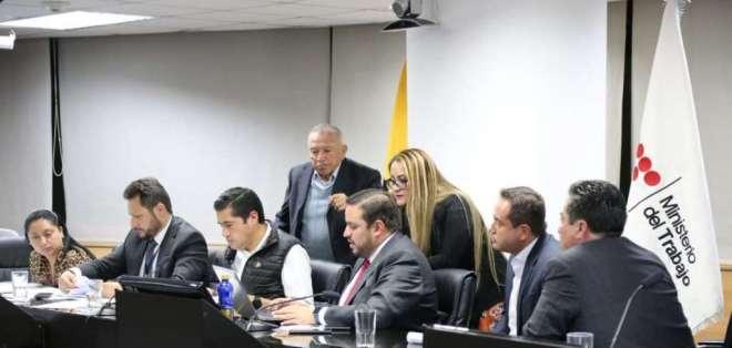 El gobierno incrementará los recursos asignados en el presupuesto general del Estado.Foto: Ministerio de Trabajo