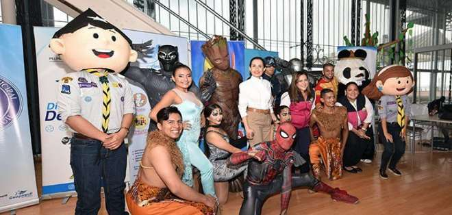 Inicia la tercera Feria del Niño en Guayaquil. Foto: Twitter
