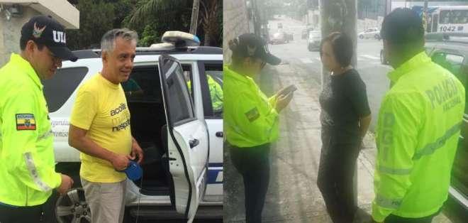 ECUADOR.- Según la Fiscalía, la detención se produjo dentro del denominado caso 'Arroz Verde'. Collage: Ecuavisa