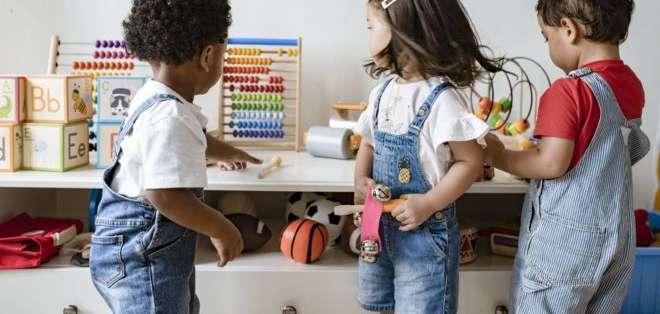 La educación de calidad en la primera infancia tiene un importante impacto en las siguientes etapas de la vida. Foto: GI