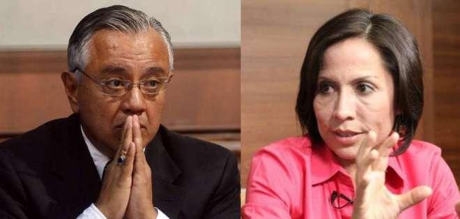 ECUADOR.- Fiscalía tiene 90 días para recopilar más pruebas contra Mera y Duarte en investigación por concusión.
