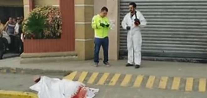 Investigan asesinato de una mujer en Jújan. Foto: Captura de video