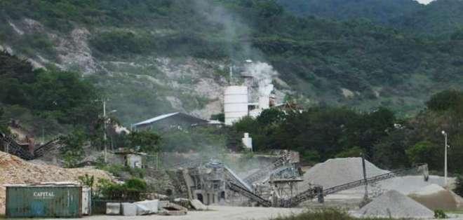 En las canteras se produce materiales de construcción. Foto: Archivo