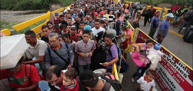 La medida responde a la crisis política y humanitaria que vive Venezuela. Foto: Referencial