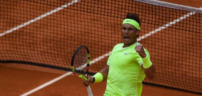 El tenista español se enfrentará ante Djokovic o Thiem en el partido definitorio. Foto: CHRISTOPHE ARCHAMBAULT / AFP