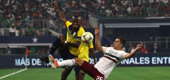 La 'Tricolor' cayó 3-2 ante México en Dallas, Estados Unidos. Foto: RONALD MARTINEZ / GETTY IMAGES NORTH AMERICA / AFP